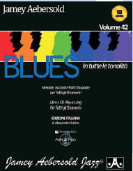 AEBERSOLD VOL. 42 - BLUES IN TUTTE LE TONALITA'