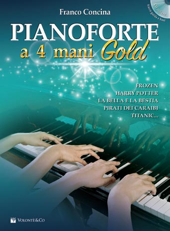 PIANOFORTE a 4 mani Gold Con cD