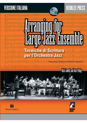 ARRANGING FOR LARGE JAZZ ENSEMBLE - Con CD