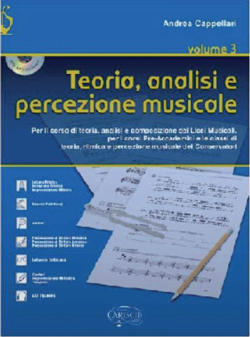 TEORIA ANALISI E PERCEZIONE MUSICALE VOL. 3 +CD