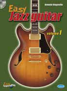 EASY JAZZ GUITAR VOL 1+ CD - ORGANELLO