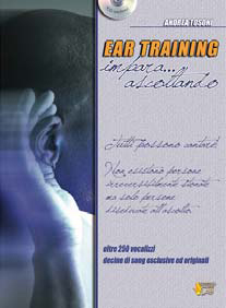EAR TRAINING + CD - ANDREA TOSONI