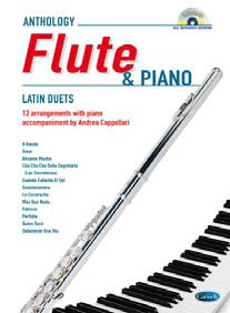 LATIN FOR FLUTE & PIANO + CD