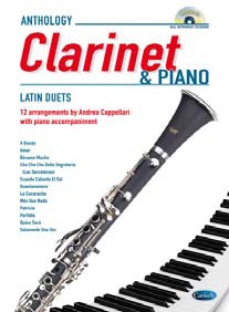 LATIN FOR CLARINET & PIANO + CD