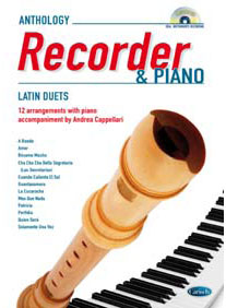 LATIN FOR RECORDER & PIANO + CD