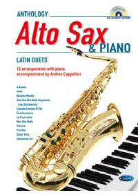 LATIN FOR ALTO SAX & PIANO + CD