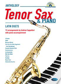 LATIN FOR TENOR SAX & PIANO + CD