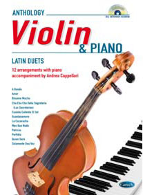 LATIN FOR VIOLIN & PIANO + CD