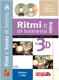 RITMI E BREAKS ALLA BATTERIA 3D + CD + DVD