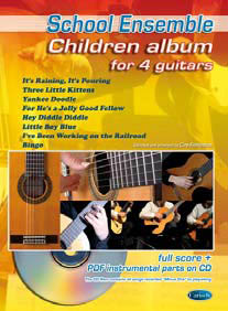 CHILDREN ALBUM FOR 4 GUITARS + CD