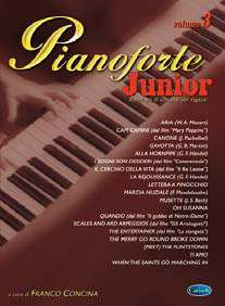 PIANOFORTE JUNIOR VOL 3 - Concina
