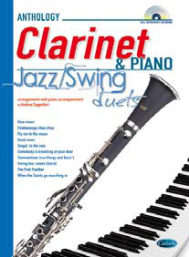 JAZZ/SWING DUETS CLARINET & PIANO + CD